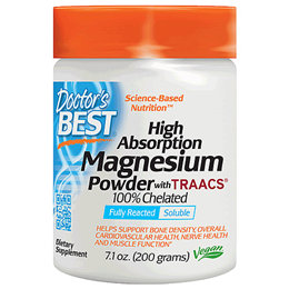 Doctors Best High Absorption Magnesium Powder with TRAACS - 200g
