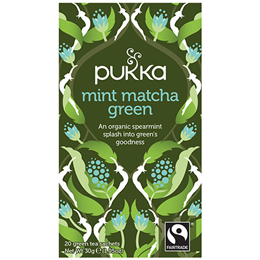 Pukka Teas Mint Matcha Green - 20 Teabags x 4 Pack