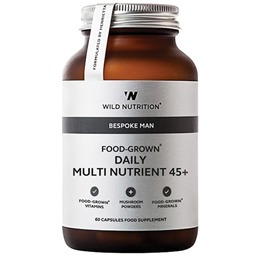 Wild Nutrition Food-Grown Daily Multi Nutrient 45+ - Men - 60 Capsules