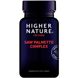 Higher Nature Saw Palmetto Complex - 30 Capsules