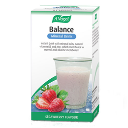A Vogel Balance Mineral Drink - Strawberry - 21 x 5.5g Sachets