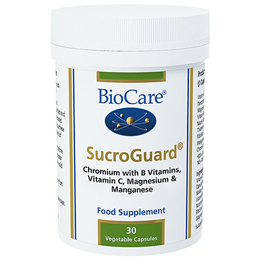 BioCare SucroGuard - Blood Sugar Support Complex - 30 Vegicaps