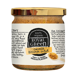 Royal Green Organic Coconut Blossom Sugar - 200g