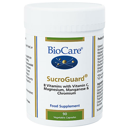 BioCare SucroGuard - Blood Sugar Support Complex - 90 Vegicaps