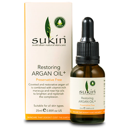 Sukin Restoring Argan Oil+ - 25ml
