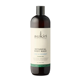 Sukin Botanical Body Wash Lime & Coconut - Pump - 500ml