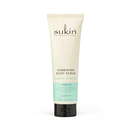 Sukin Renewing Body Scrub - Green Tea and Jojoba - 200ml
