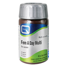 Quest Fem A Day Multi - 60 Tablets - Best before date is 28th February 2019