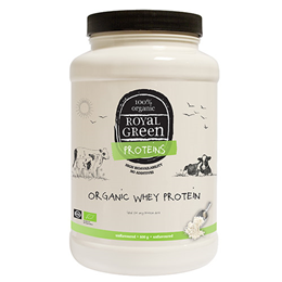 Royal Green Organic Whey Protein - 600g Powder
