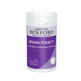 Patrick Holford Brain Food Phospholipids & B Vitamins - 60 Vegicaps