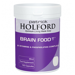 Patrick Holford Brain Food Phospholipids & B Vitamins - 120 Vegicaps