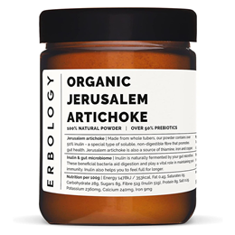 Erbology Raw Organic Jerusalem Artichoke Powder - 200g