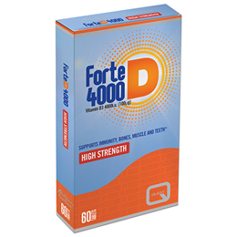 Quest Forte D - Vitamin D3 4000 IU - 60 Tablets