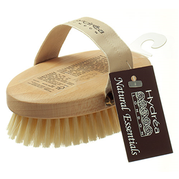Hydrea London Body Brush with Natural Bristle and FSC Beechwood
