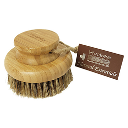Hydrea London Bamboo Round Body Brush with Mane & Cactus Bristle