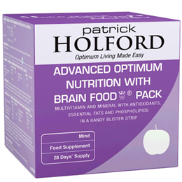 Patrick Holford Advanced Optimum Nutrition with Brain Food Pack