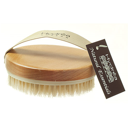 Hydrea London Lymphatic Detox Massage Brush with Natural Bristles