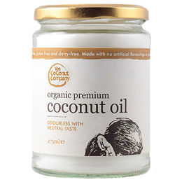 The Coconut Company Organic Premium Coconut Oil - 475ml