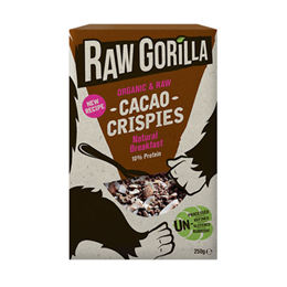 Raw Gorilla Organic Raw Cacao Crispies - 250g