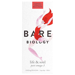 Bare Biology Lion Heart Pure Omega 3 Fish Oil - High Strength - 150ml