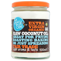 Lucy Bee Sri Lankan Extra Virgin Organic Raw Coconut Oil - 500ml