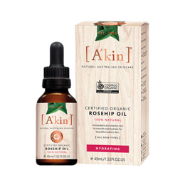 A kin Certified Organic Rosehip Oil - 45ml