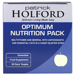 Patrick Holford Optimum Nutrition Pack Multivitamins-56 Blister Strips