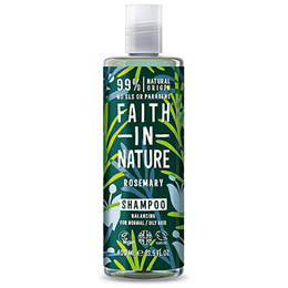 Faith in Nature Rosemary Balancing Shampoo for Normal to Oily Hair - 400ml