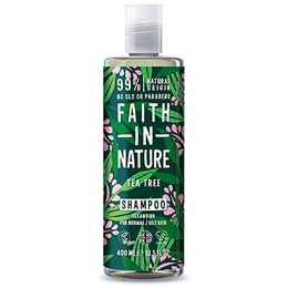 Faith in Nature Tea Tree Shampoo - Normal to Oily Hair - 400ml