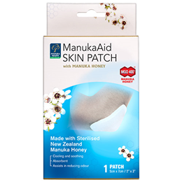 Manuka Health ManukaAid Skin Patch with Manuka Honey MGO400+