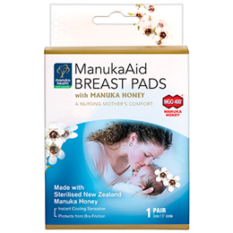 Manuka Health ManukaAid Breast Pads with Manuka Honey MGO 400+