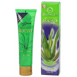 Lifestream Biogenic Aloe Vera Gel - 100g Tube