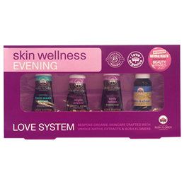 Australian Bush Flower Essences Love System Skin Wellness Evening Pack