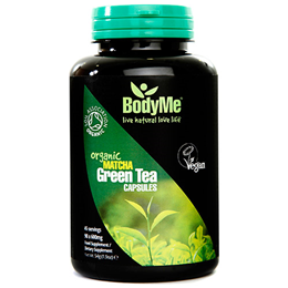 BodyMe Organic Matcha Green Tea - 90 x 600mg Capsules