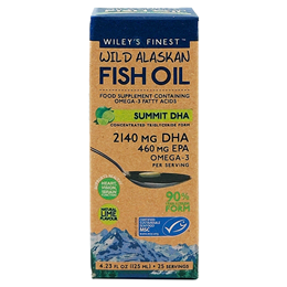Wiley`s Finest Wild Alaskan Fish Oil Summit DHA - 125ml
