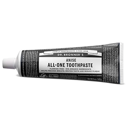 Dr Bronner`s Anise Toothpaste - 140g