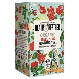 Heath & Heather Organic Energising Morning Time Tea - 20 Bags