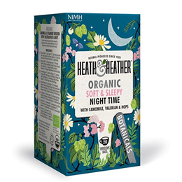 Heath & Heather Organic Relaxing Night Time Tea - 20 Bags