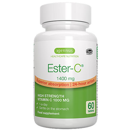 Igennus Ester-C - 60 x 1400mg Tablets