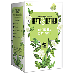 Heath & Heather Green Tea & Jasmine - 50 Bags
