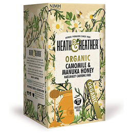 Heath & Heather Organic Camomile With Manuka Honey - 20 Bags