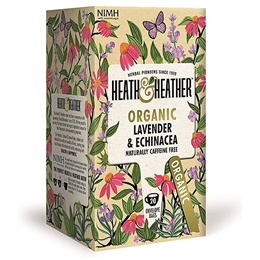 Heath & Heather Organic Lavender & Echinacea - 20 Bags