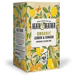 Heath & Heather Organic Lemon & Ginger - 20 Bags