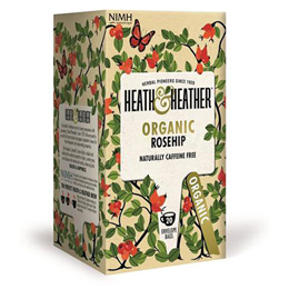 Heath & Heather Organic Rosehip - 20 Envelope Bags