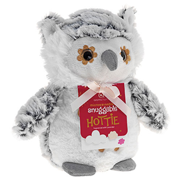 Aroma Home Snuggable Hottie - Lavender Fragrance - Snow Owl