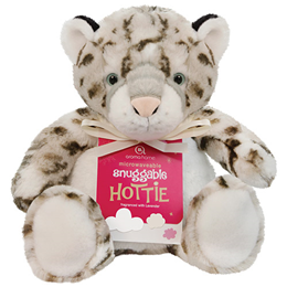 Aroma Home Snuggable Hottie - Lavender Fragrance - Snow Leopard