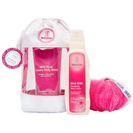 Weleda Wild Rose Body Care Gift Bag