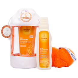 Weleda Sea Buckthorn Body Care Gift Bag
