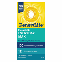 Renew Life Ultimate Flora Ultra Potent 100 Billion - 30 Capsules