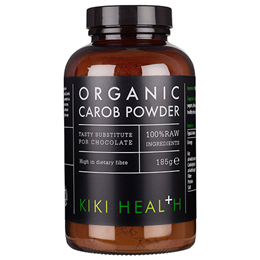 KIKI Health Organic Carob Powder - 185g - Best before date is 31st October 2019